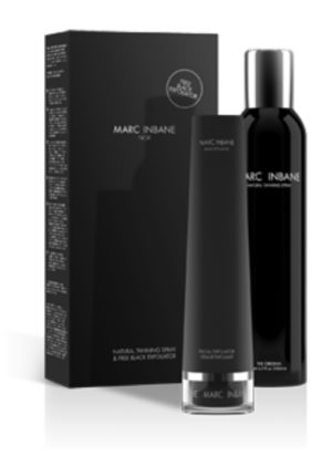 Marc Inbane Natural Tanning Spray Gratis Black Exfoliator