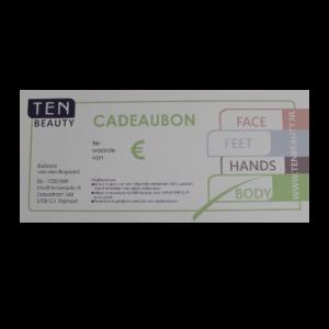 Cadeaubon TEN Beauty